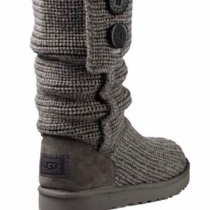 Ugg Size 10 Slouch Sweater Boots